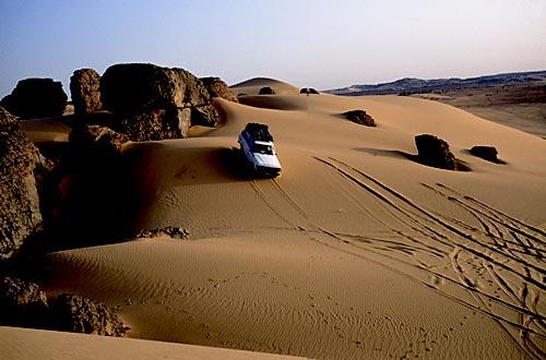 foto escursione nel deserto
